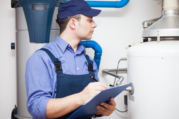 hot water service repairs